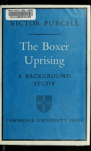 The Boxer Uprising