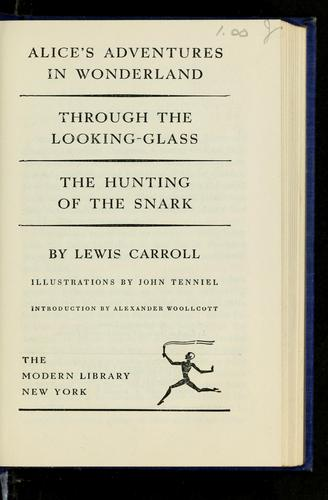 The complete works of Lewis Carroll pseud.