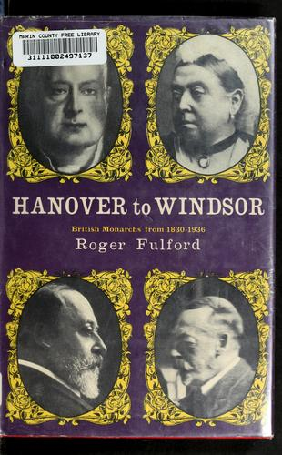Hanover to Windsor