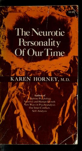 Download The neurotic personality of our time
