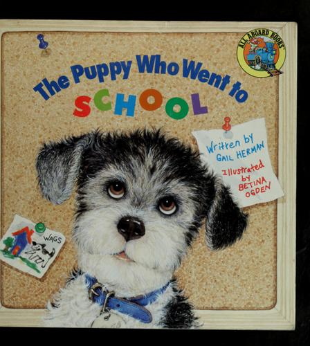 The puppy who went to school
