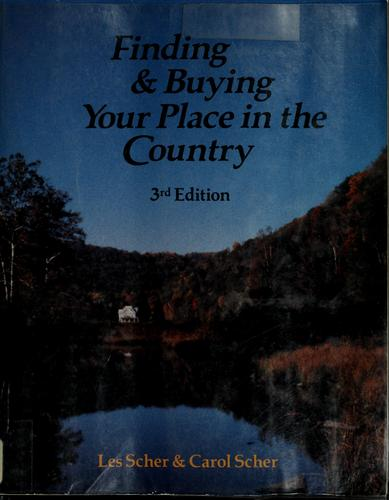 Download Finding & buying your place in the country