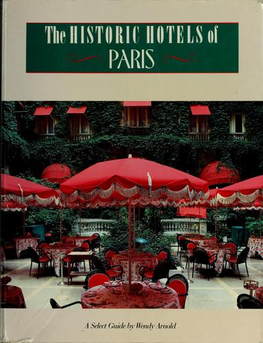The historic hotels of Paris