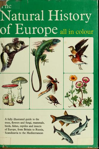 Download The natural history of Europe