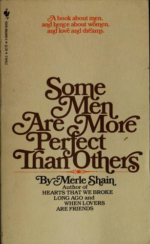 Download Some men are more perfect than others