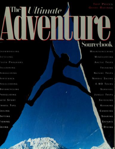 The ultimate adventure sourcebook