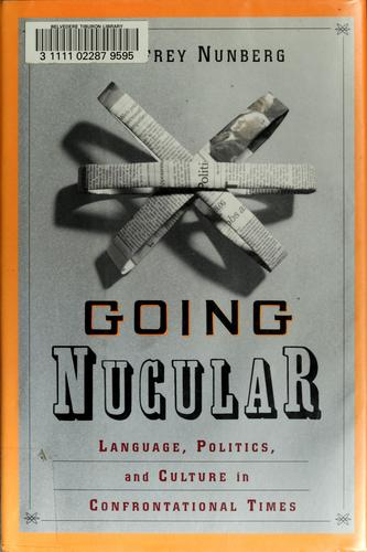 Going nucular by Geoffrey Nunberg