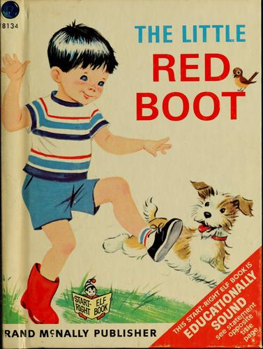 The little red boot by Marjorie Barrows